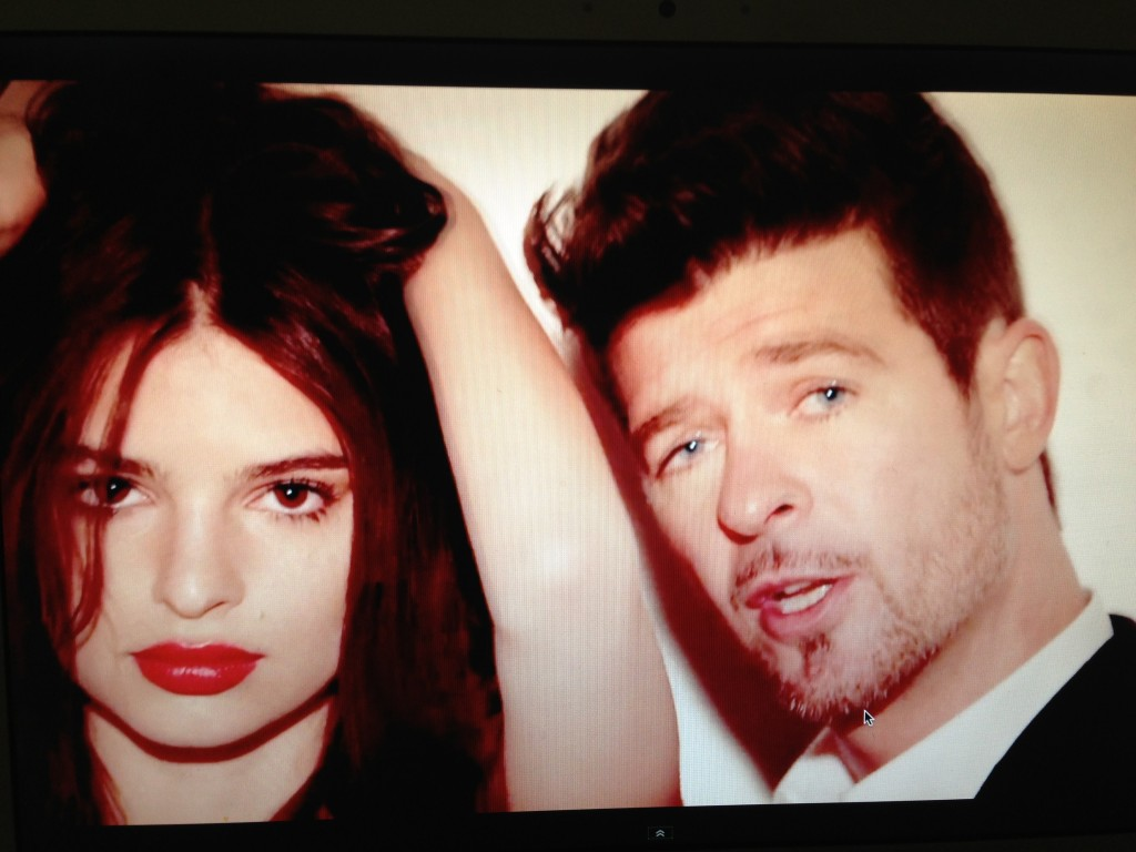 blurred lines ladies 2013
