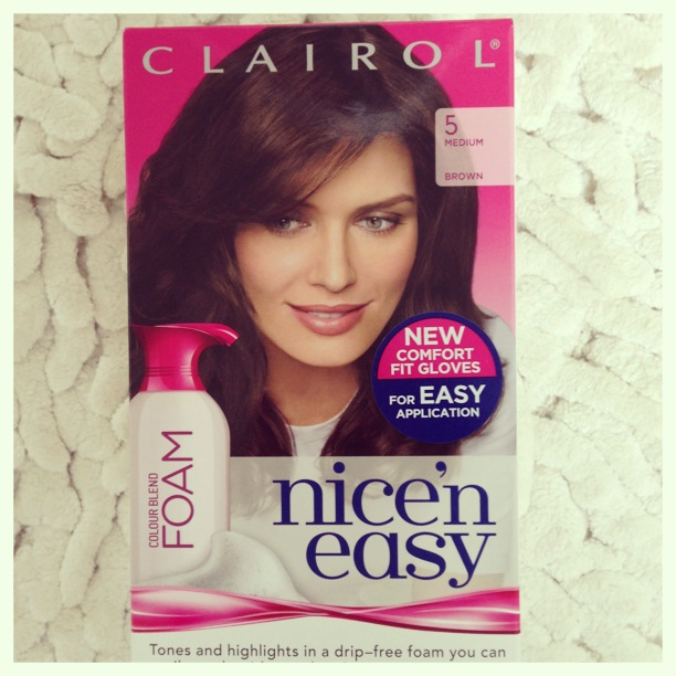 Clairol Nice N Easy Colour Blend Foam Medium Brown Tijan Serena Loves